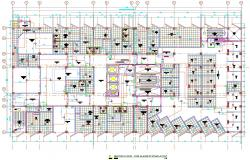 Floor Fire Alarm System Layout AutoCAD Plan Download