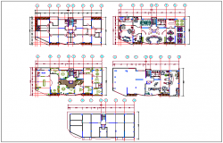 Furniture plan dwg file