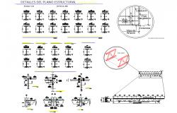 I section plan detail dwg file