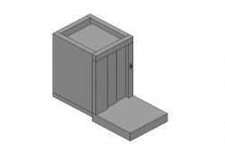 Lift box 3d file