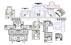Residential Apartment Lay-out detail