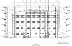 building elevation detail