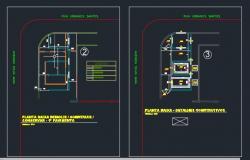 03. Planta de detalhes - SE 500 kVA e Gerador 260 kVA - SESC Deodoro
