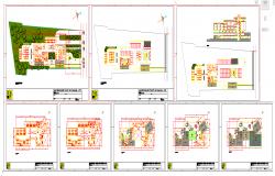 Modern Hospital plan detail