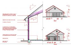 Single floor small house design