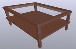 3d Center Table