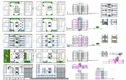 1026 Sq mtr hotel architecture plan and design