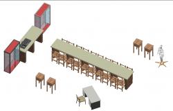 3D Library Design