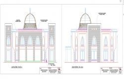 Elevation design For interior Detail