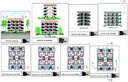 Apartment Building Design Project