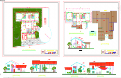 Duplex House plan detail