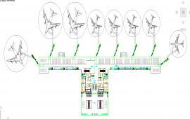 Airport turminal Detail