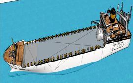 3d merchant ship