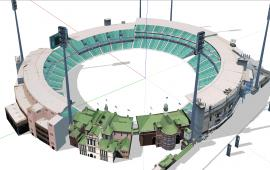 Cricket stadium design