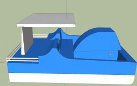 Modern Boat details