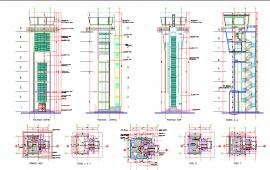 Air traffic control tower  details