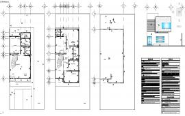 Office details layout plan