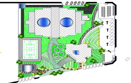 School complete project With rendered master plan