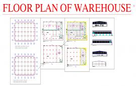 Floor plan ware House