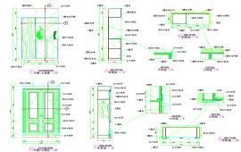Restaurant renovation construction block details