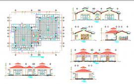Initial classrooms design