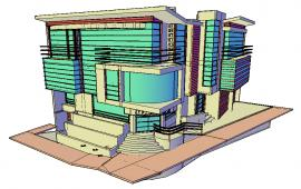3D Multi speciality Hospital