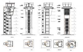 Airport Stairway Detail