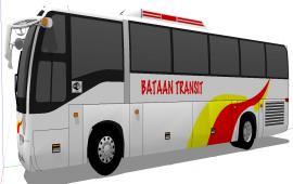 Luxury bus details