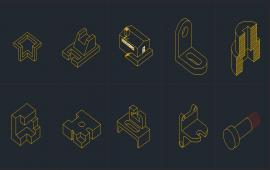 Isometric Tools Design Block
