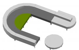 Half Round Sofa  Design