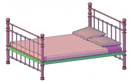 Bunk bed Detail
