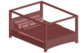 3D Modern Bed Design