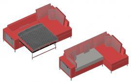 Hydraulic Sofa