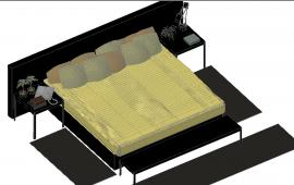 Modern Double Bed Design