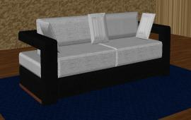 Black and White Sofa Design