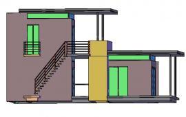3D House details