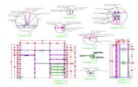 Wardrobe structure  details