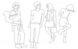 2D people Block Design