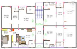 Apartment House Lay-out