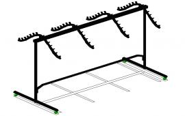 3D Cloth tag stand