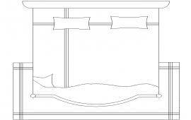 2D Double bed Detail