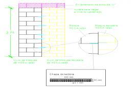 Brick wall design