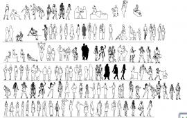 2D people block design
