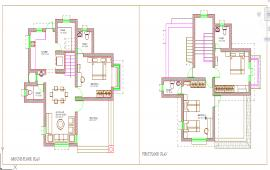 House Floor Design lay-out