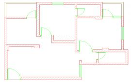 House Line Plan Design