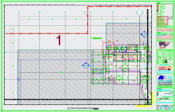 14th Floor Block Work Plan dwg file