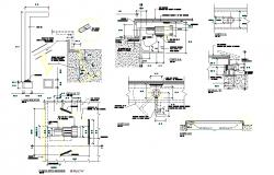 15 m3 reservoir detail plan autocad file