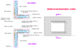 Window detail autocad file
