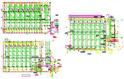 1A,2A,3A New ware house - Equipment Layout On Ceiling