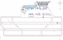 Airport plan detail DWG